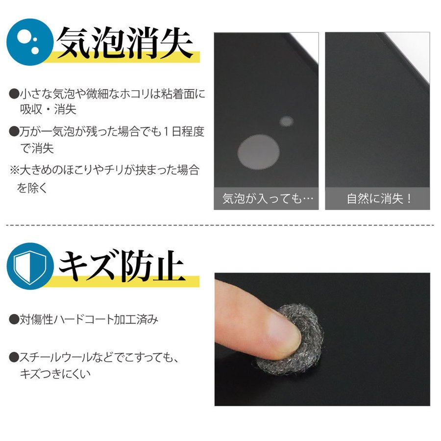 Galaxy S21 5G 保護フィルム AFP液晶保護フィルム3 指紋防止 キズ防止 防汚 気泡消失 ASDEC アスデック ASH-SC51B|mobilefilm|13