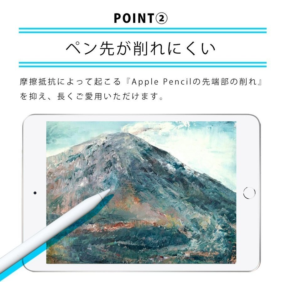 iPad Pro 11インチ (2021年 第3世代) 用  保護フィルム ノングレア液晶保護フィルム3 防指紋 反射防止 ギラつき防止 気泡消失 ASDEC NGB-IPA17 mobilefilm 14