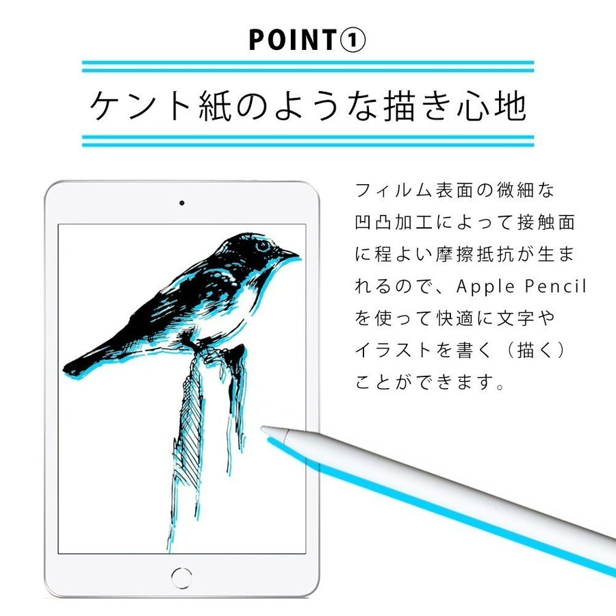 iPad Pro 12.9インチ (2021年 第5世代) 用  保護フィルム ノングレア液晶保護フィルム3 防指紋 反射防止 ギラつき防止 気泡消失 ASDEC NGB-IPA18|mobilefilm|13