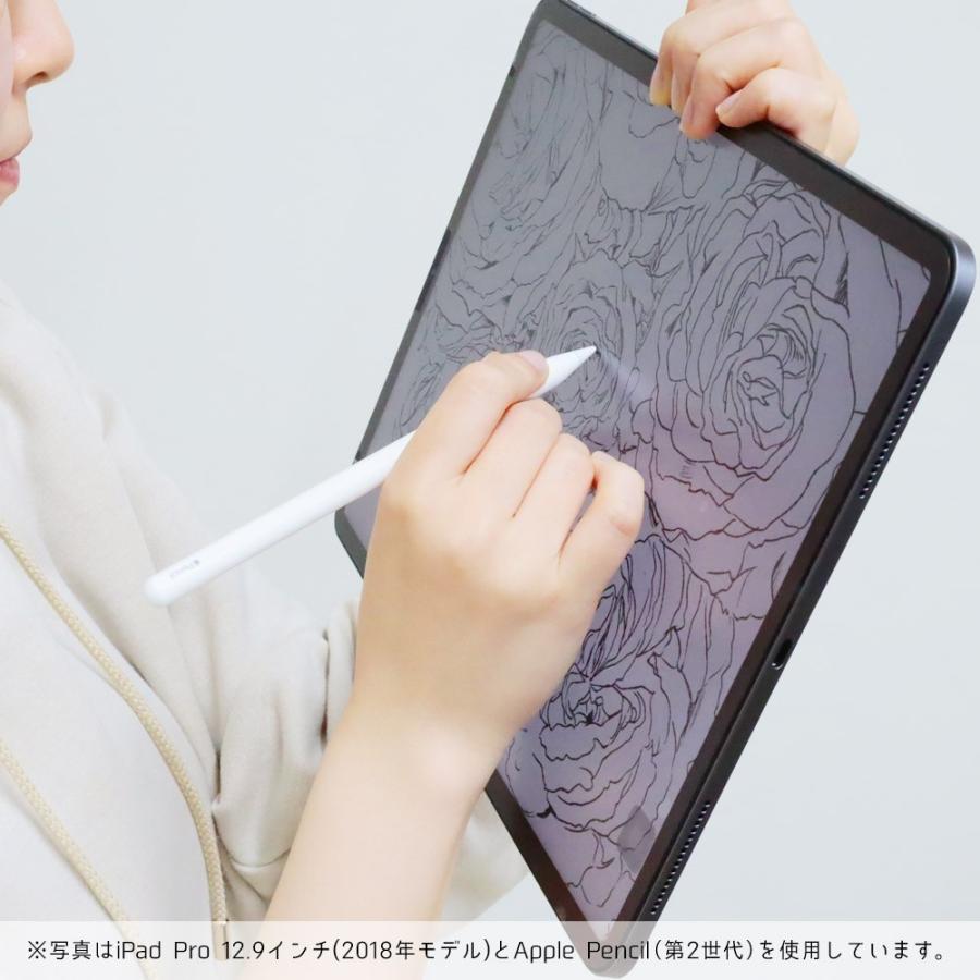 iPad Pro 12.9インチ (2021年 第5世代) 用  保護フィルム ノングレア液晶保護フィルム3 防指紋 反射防止 ギラつき防止 気泡消失 ASDEC NGB-IPA18|mobilefilm|17