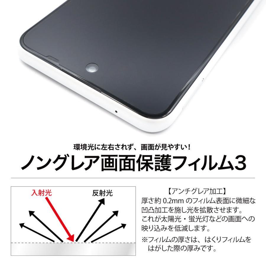 Galaxy S21+ 5G 保護フィルム ノングレア液晶保護フィルム3 防指紋 反射防止 ギラつき防止 気泡消失  ASDEC アスデック NGB-SCG10|mobilefilm|11
