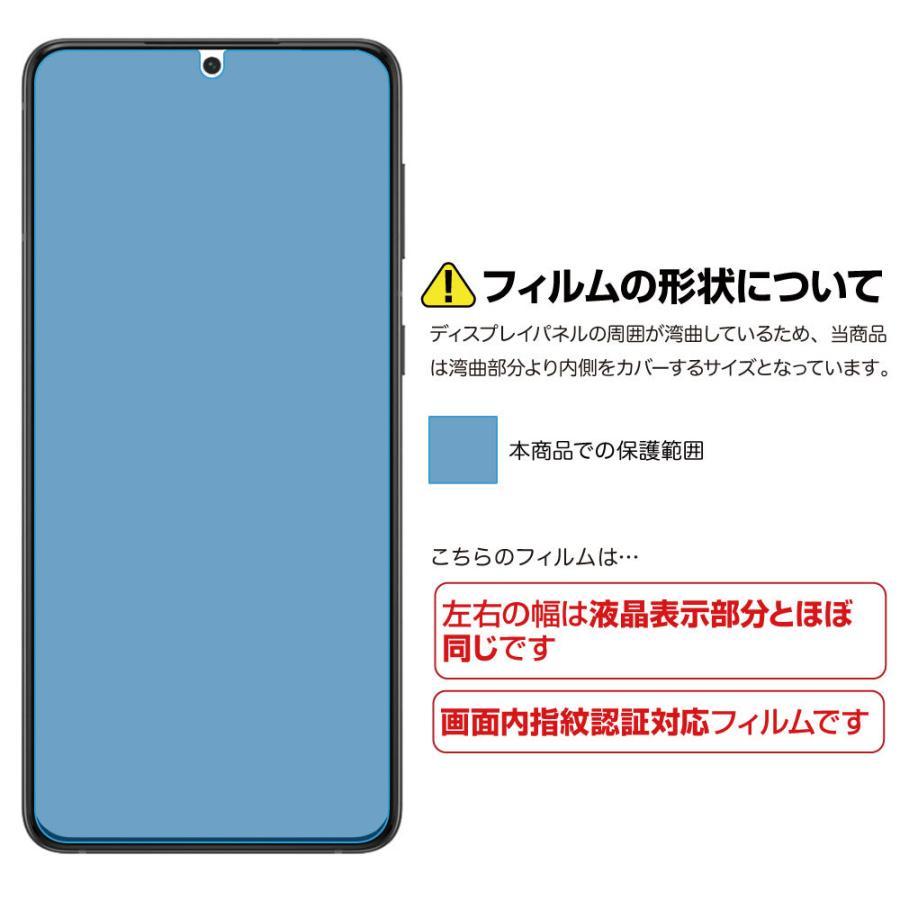 Galaxy S21+ 5G 保護フィルム ノングレア液晶保護フィルム3 防指紋 反射防止 ギラつき防止 気泡消失  ASDEC アスデック NGB-SCG10|mobilefilm|03