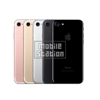 iPhone7 128GB ジェットブラック au 中古 Bランク  白ロム本体 スマホ専門販売店|mobilestation