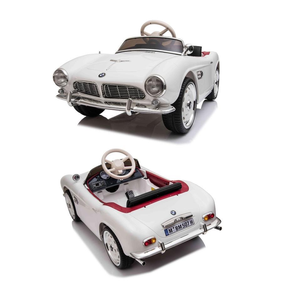 【期間限定の超特価】乗用玩具 乗用ラジコン BMW 507 ビー・エム・ダブリュー クラシックカー ライセンス 乗用ラジコンカー 電動ラジコン mobimax 16