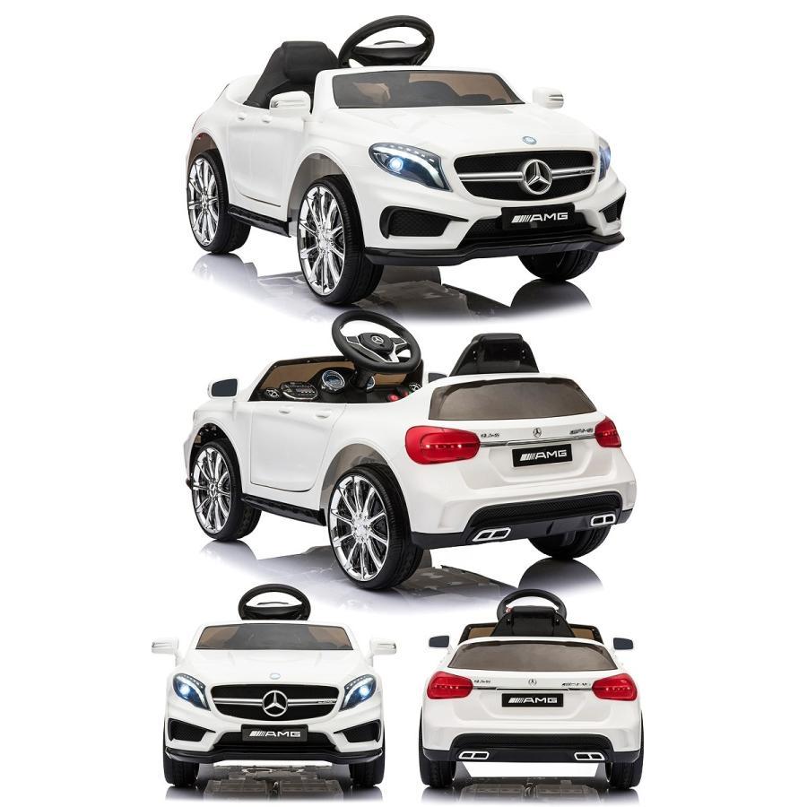 乗用玩具 乗用ラジコン BENZ GLA45 AMG ベンツ ライセンス ペダルとプロポで操作可能な電動ラジコンカー 電動乗用玩具 乗用ラジコンカー mobimax 15