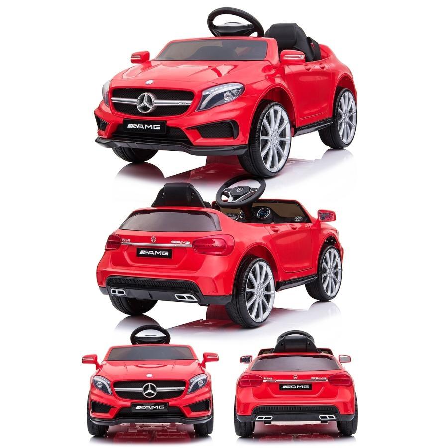 乗用玩具 乗用ラジコン BENZ GLA45 AMG ベンツ ライセンス ペダルとプロポで操作可能な電動ラジコンカー 電動乗用玩具 乗用ラジコンカー mobimax 17