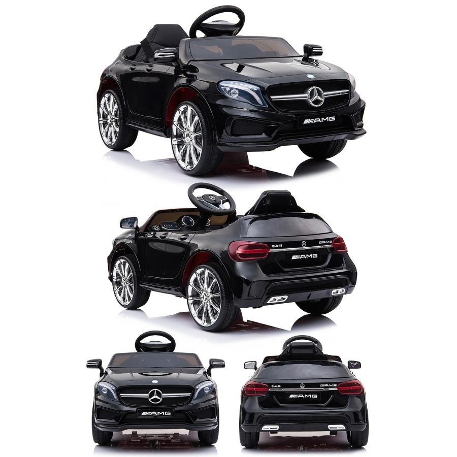 乗用玩具 乗用ラジコン BENZ GLA45 AMG ベンツ ライセンス ペダルとプロポで操作可能な電動ラジコンカー 電動乗用玩具 乗用ラジコンカー mobimax 19