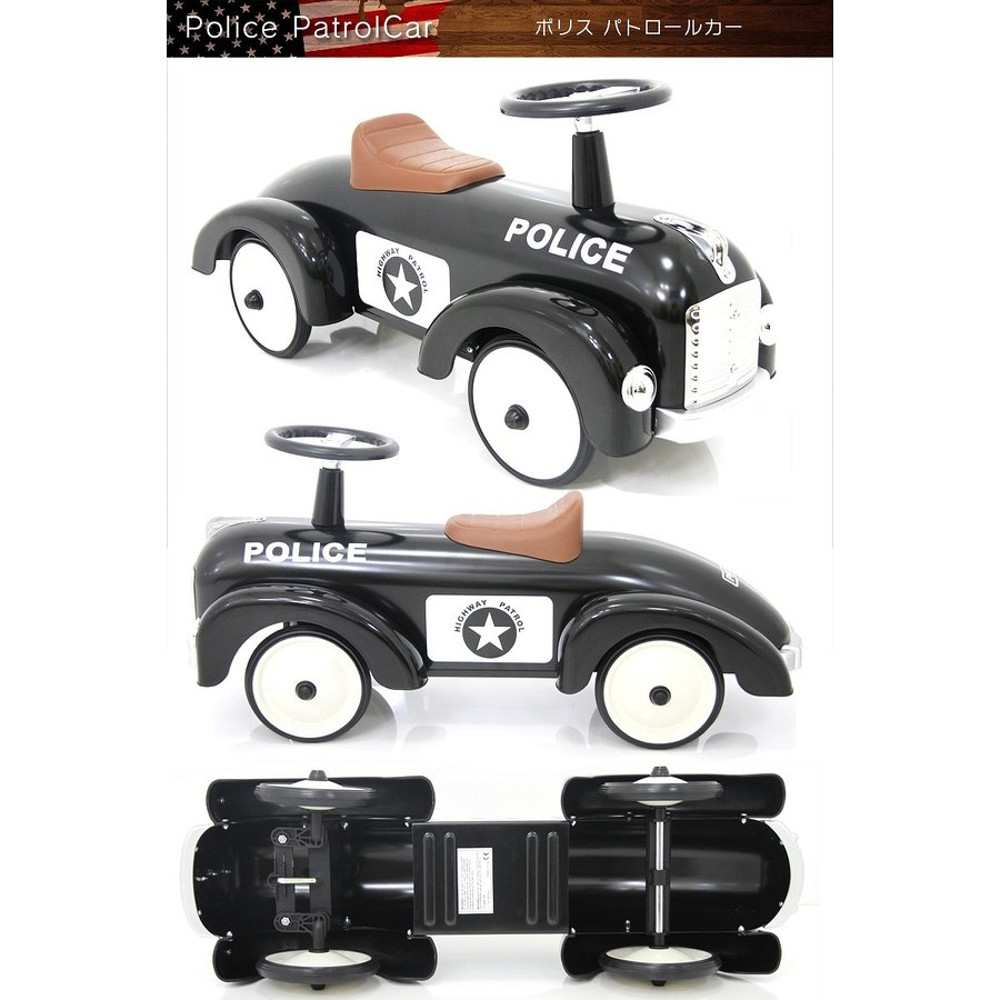 [長期在庫アウトレット特価]ARTABURG(アルタバーグ) スピードスター スチール玩具 足けり乗用 乗用玩具 押し車 子供が乗れる 本州送料無料 [891] mobimax 07