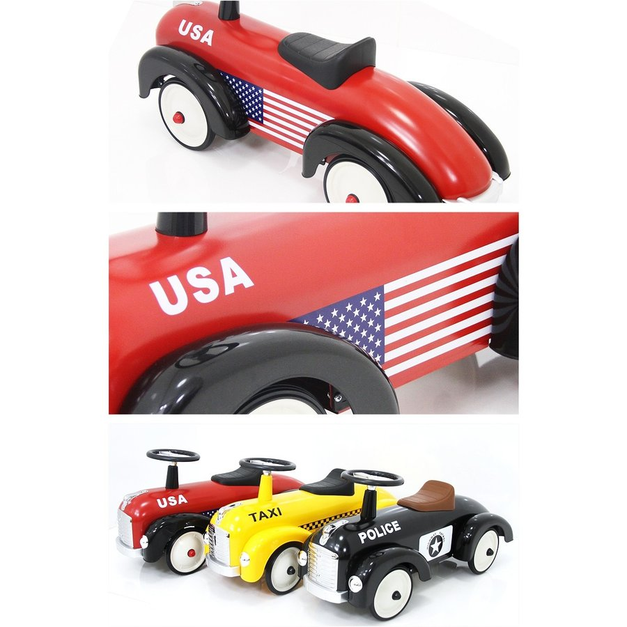 [長期在庫アウトレット特価]ARTABURG(アルタバーグ) スピードスター スチール玩具 足けり乗用 乗用玩具 押し車 子供が乗れる 本州送料無料 [891] mobimax 10