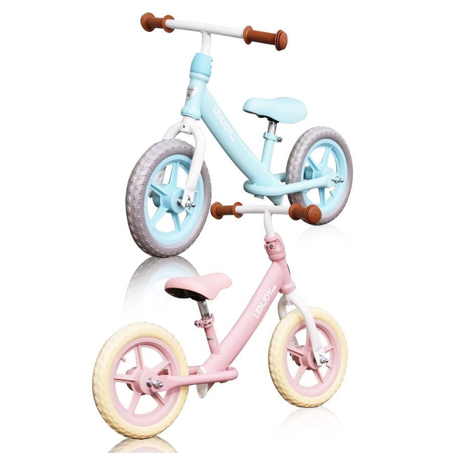 子供用自転車 ペダルなし LENJOY バランス キック バイク ランニングバイク 軽量 キッズバイク 2歳 3歳 4歳 5歳 [S100-12] mobimax 16