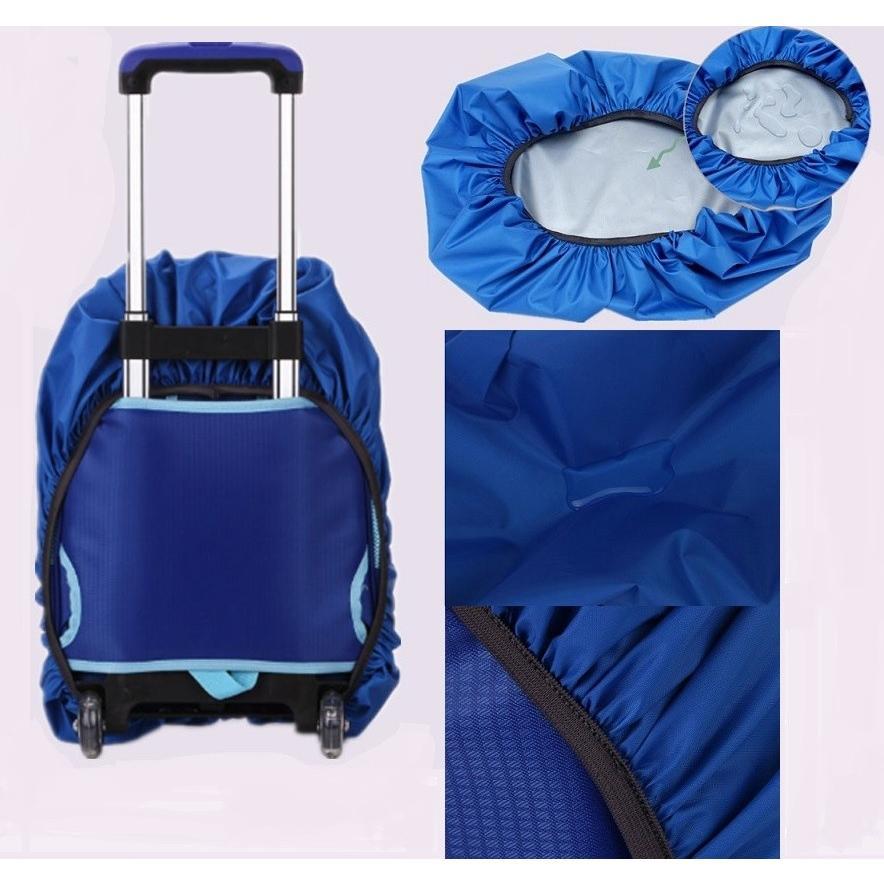 防水 登山 リュックサック カバー デイパック ザック 雨 バッグ レインカバー 軽量 キャリーバッグ スーツケース ナイロン 防塵 自転車かご バック カバー|mobitz|02