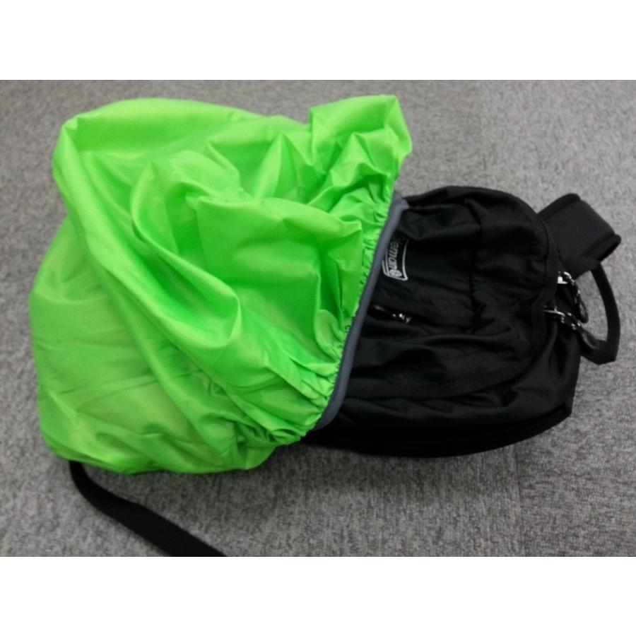 防水 登山 リュックサック カバー デイパック ザック 雨 バッグ レインカバー 軽量 キャリーバッグ スーツケース ナイロン 防塵 自転車かご バック カバー|mobitz|04