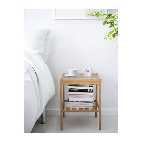 ベッドサイドテーブル サイドテーブル ナイトテーブル IKEA イケア NESNA ネスナ 202.471.28|moblife|02
