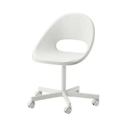 IKEA イケア チェア LOBERGET ローベルゲット BLYSKAR 593.318.66 ホワイト ブリシェール 低価格化 回転チェア メーカー公式ショップ