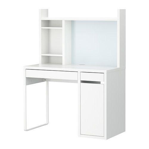学習机 シンプル デスク 勉強机 IKEA イケア ●手数料無料!! ホワイト MICKE 日本 ミッケ 092.233.22 ワークステーション