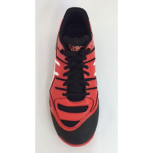 アシックス asics 安全靴 FCP103 レッドXホワイト(2301) スニーカータイプ |mocchi|04