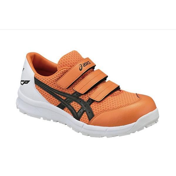アシックス(asics) 安全靴 FCP202 ユニセックス マジックテープ オレンジXブラック(0990) mocchi 02