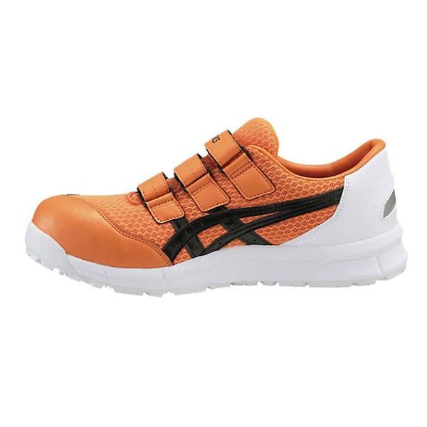 アシックス(asics) 安全靴 FCP202 ユニセックス マジックテープ オレンジXブラック(0990) mocchi 03