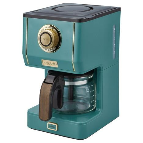 Toffy アロマドリップコーヒーメーカー スレートグリーン|mococo-shop