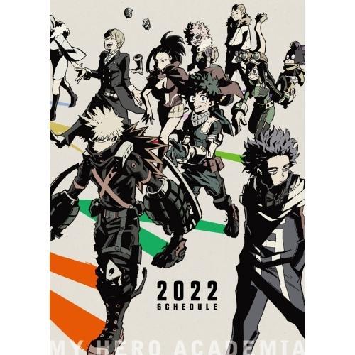 誕生日 お祝い 激安超特価 僕のヒーローアカデミア スケジュール帳 2022