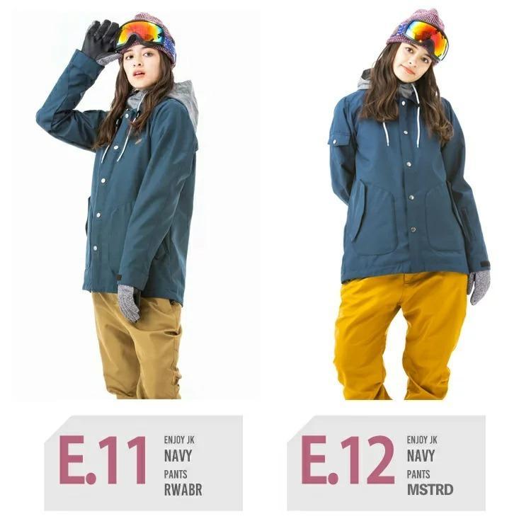 Nスノーボードウェア レディース スキーウェア スノボウェア 上下セット ジャケット パンツ SECRET GARDEN ENJOY 2020|mocomocotown|08