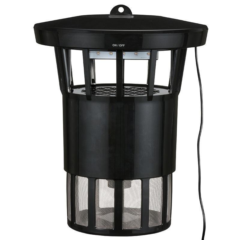 【送料無料】 OHM UV LED捕虫器 10Wタイプ 吊下/据置式 屋内用 MUS-SPAC10
