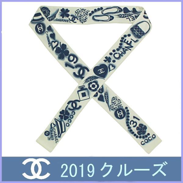03a2e01be19d シャネル CHANEL スカーフ ツイリー バンドー スリム ヘアバンド 2019 春 ...