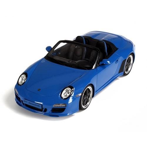 GTスピリット 1/18 ポルシェ・ 911(997) スピードスター (ブルー)