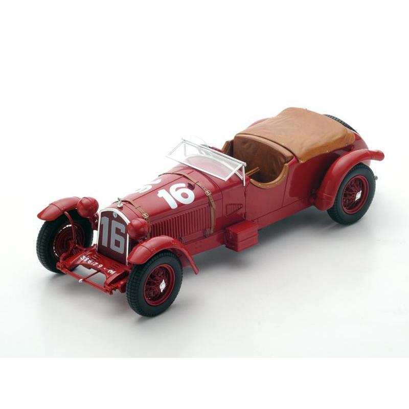 1/18 スパーク ミニカー トヨタ 8C No.16 Winner Le Mans 1931