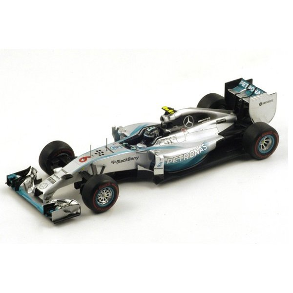 1/18 スパーク ミニカー メルセデス F1 モナコグランプリ2014 Mercedes F1 W05 n.6 Winner Monaco GP 2014