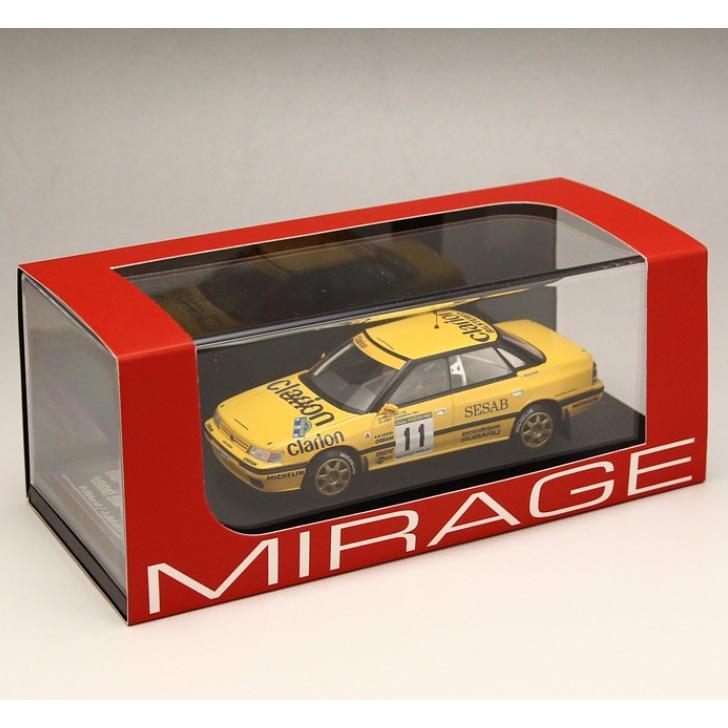 1/43 エイチピーアイ レーシング ミラージュ ミニカーSubaru Legacy RS (#11) 1992 Swedish