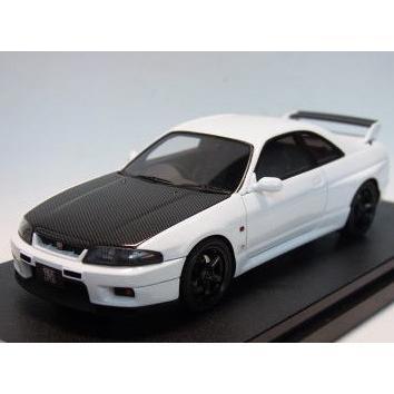 1/43 エイチピーアイ レーシング ミニカー ニッサン スカイライン Nissan Skyline GT-R V-spec N1 (R33)/白い