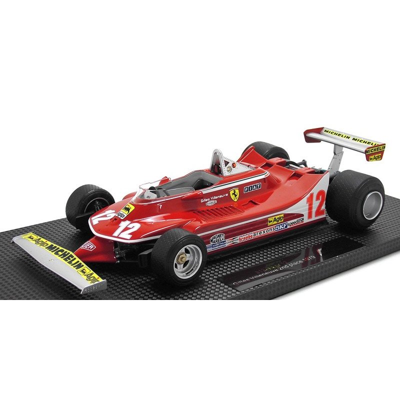1/18 GP REPLICAS 、ミニカー、フェラーリ Ferrari 312T4 1979 G. Birunyubu No, 12