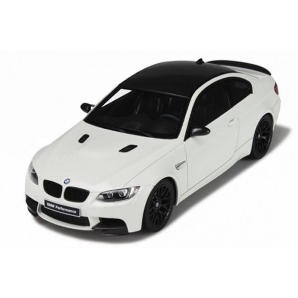 1/18 GTスピリット ミニカー BMW M3 E92(白い)