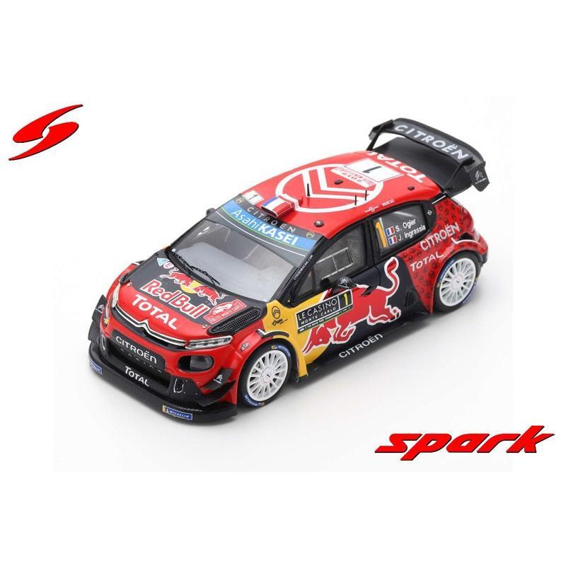CITROEN C3 WRC 1//43 S5974 WINNER RALLYE MONTE CARLO 2019 SPARK