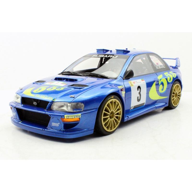 1/18 トップマルケス スバル インプレッサ Subaru Impreza S4 WRC Portugal Winner 1998