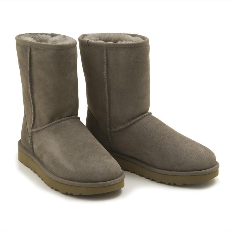 超人気 ≪期間限定セール≫(サイズ:US7)UGG ブーツ 1016223 CLASSIC SHORT II BOOT レディース BNDL BRINDLE グレー アグ ムートンブー f1841-1016223-bndlBE*2, 建材Ladyにおまかせ ワニパーク d7a01189