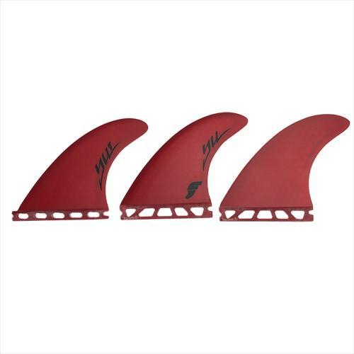 FUTURE FIN フューチャー フィン 3フィン YU FUTURE対応 3枚セット赤 FT-YU-赤-3PC