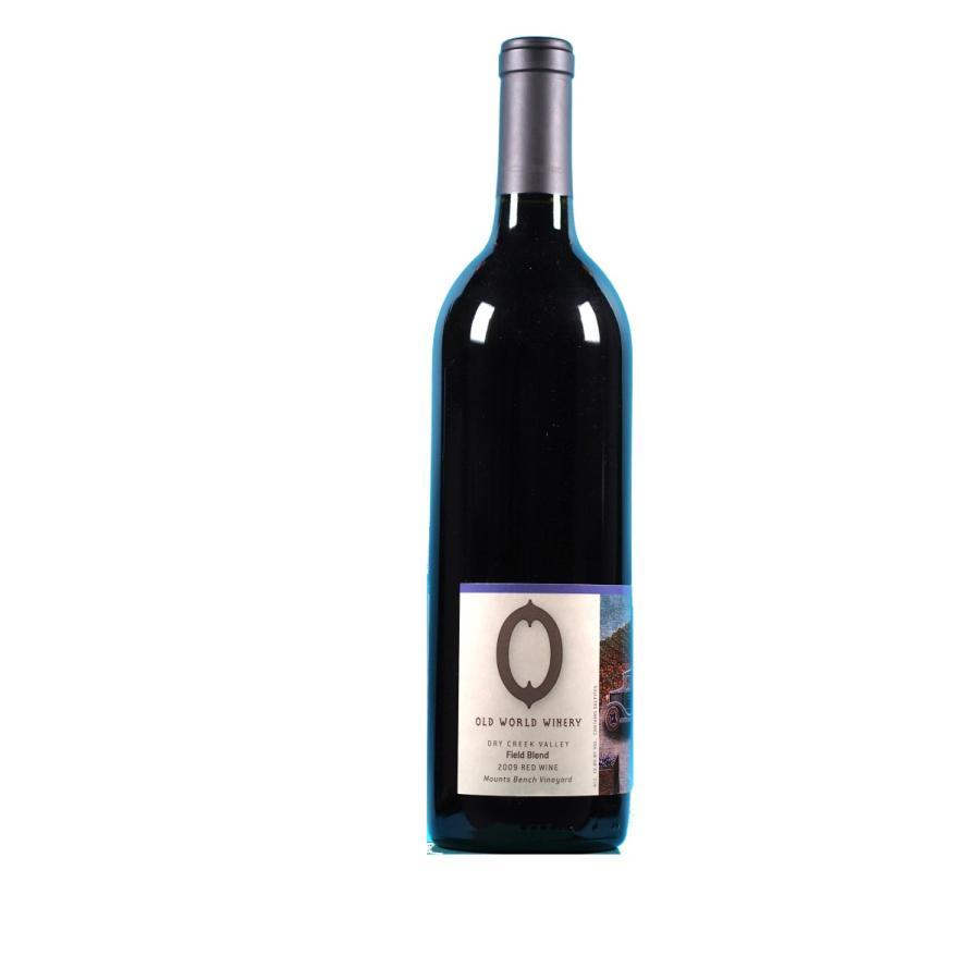 赤ワイン オーガニック オールドワールドワイナリー フィールドブレンド ジンファンデル/プティシラー 2009 アメリカ カリフォルニアワイン 自然派ワイン wine moesfinewines