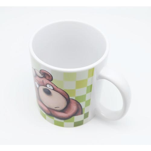 おしゃれなカツラのくまさんのイラスト03のマグカップ コーヒーカップ ティーカップ|moevi|04