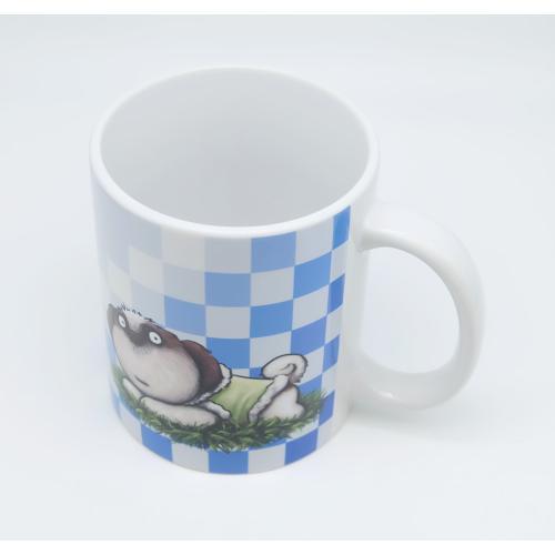 犬のおしゃれなシーズーさんのイラスト02のマグカップ コーヒーカップ ティーカップ moevi 04