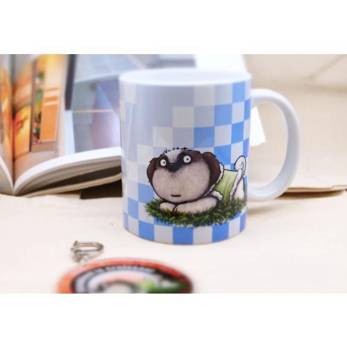 犬のおしゃれなシーズーさんのイラスト02のマグカップ コーヒーカップ ティーカップ moevi 05