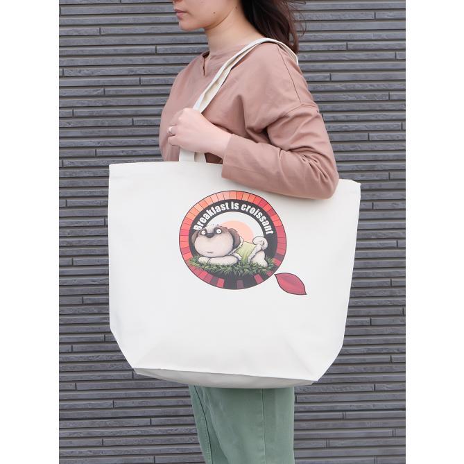 犬のシーズーさんのイラスト02のバッグ トートバッグ レディース ショルダーバッグ 鞄 肩掛け トート ネコポス可 大きめサイズ|moevi|03
