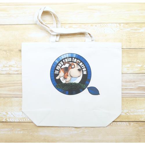 犬のビーグルさんのイラスト02のバッグ トートバッグ レディース ショルダーバッグ 鞄 肩掛け トート ネコポス可 大きめサイズ|moevi