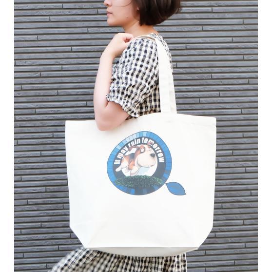 犬のビーグルさんのイラスト02のバッグ トートバッグ レディース ショルダーバッグ 鞄 肩掛け トート ネコポス可 大きめサイズ|moevi|03