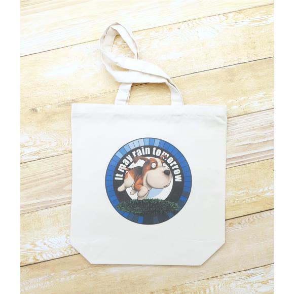 犬のビーグルさんのイラスト02のバッグ トートバッグ レディース ショルダーバッグ 鞄 肩掛け トート ネコポス可 moevi