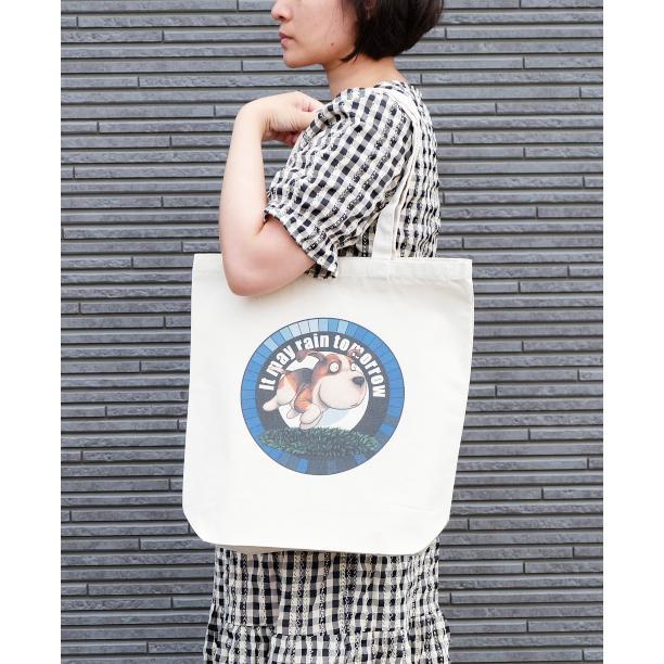 犬のビーグルさんのイラスト02のバッグ トートバッグ レディース ショルダーバッグ 鞄 肩掛け トート ネコポス可 moevi 03