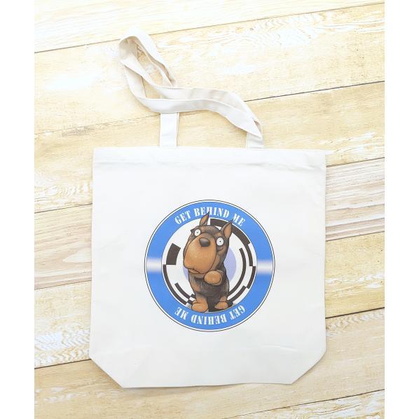 犬のドーベルマンさんのイラストのバッグ トートバッグ レディース ショルダーバッグ 鞄 肩掛け トート ネコポス可|moevi