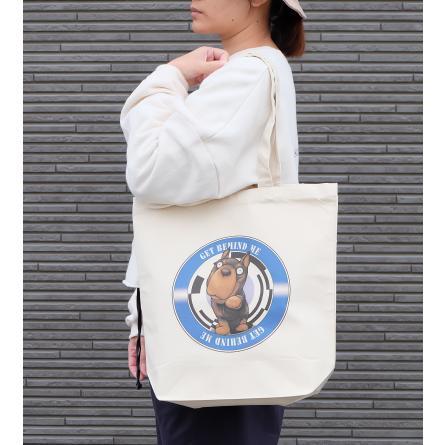 犬のドーベルマンさんのイラストのバッグ トートバッグ レディース ショルダーバッグ 鞄 肩掛け トート ネコポス可|moevi|03