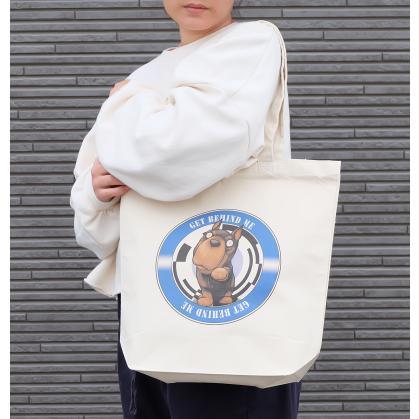 犬のドーベルマンさんのイラストのバッグ トートバッグ レディース ショルダーバッグ 鞄 肩掛け トート ネコポス可|moevi|04